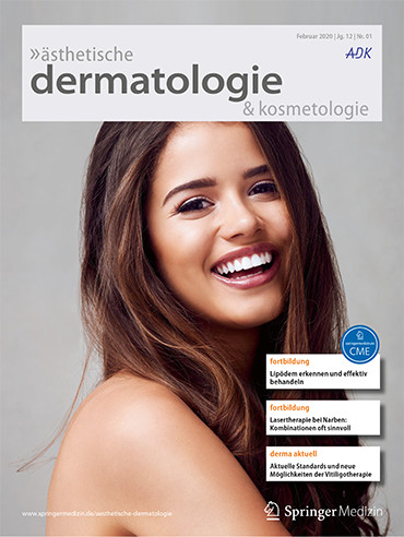 ästhetische dermatologie & kosmetologie 1/2020